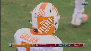 HIGHLIGHTS: Tennessee vs. No. 1 Alabama (10.21.17)