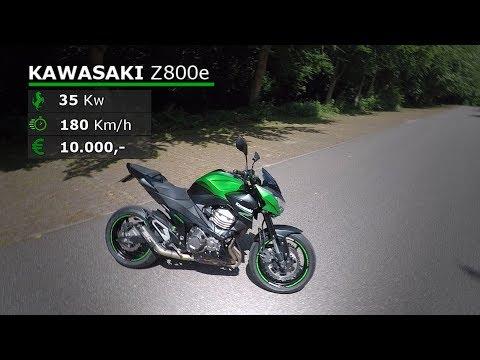 #1 Review // Kawasaki Z800e + Acceleration! (35Kw)