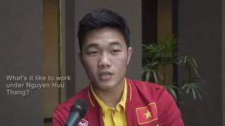 Xuan Truong gay an tuong khi tra loi bang tieng Anh