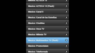 ver la tv de mexico en android