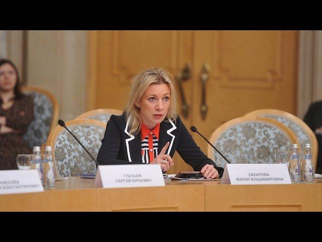 Мария Захарова разносит в щепки хохлов! Часть 1