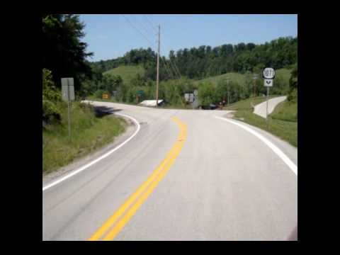 Allens Charity Bike Ride - Day 26 The Ride To Buckhorn Ky & Friends We Met Part One.wmv video