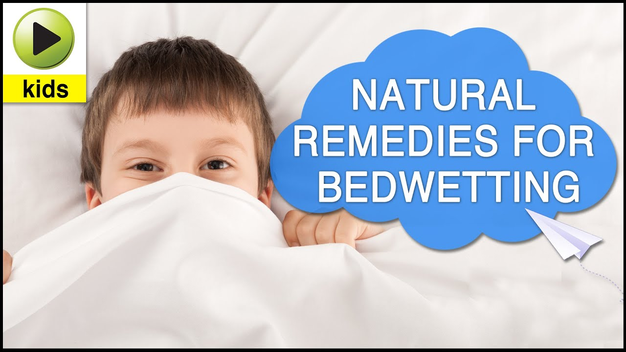 Natural Bedwetting Home Remedies