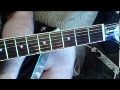 Open E Tuning Rocky Mountain Way Joe Walsh Studio Recording Lesson