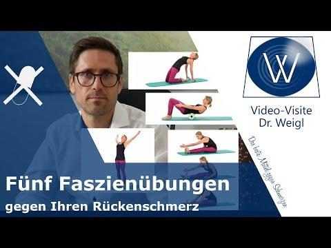 Rückenschmerzen mit Faszientraining reduzieren: Effektive Faszien Übungen gegen Schmerzen im Rücken