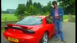 Old Top Gear 1993 Mazda RX-7 vs Mitsubishi 3000GT VR4 vs Jaguar XJS