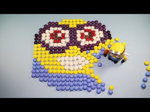 Minion Made Of Candies How to DIY Learn to Spell for Toddlers