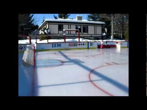 Best backyard Rink in Québec Canada