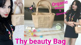 Thy Beauty Bag October 2017 |  Organic Skincare & Makeup | Jewelry & Bag | Unboxing & Review