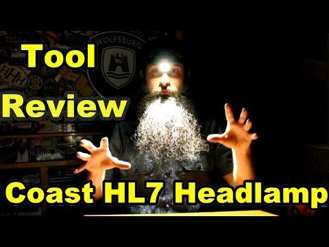 Coast HL7 Headlamp Review