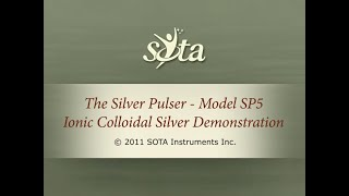 The SOTA Silver Pulser Model SP5 - Ionic Colloidal Silver