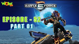 Motu Patlu presents Hot Wheels Battle Force 5 SEASON FINALE - Unite And Strike! - S2 E52.P1