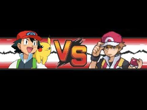 Pokemon: Red VS Ash (Kanto-Team)