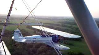 More of Stearman C3B Sunset Flight near Antique Airfield