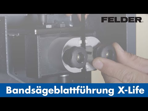 FELDER® - X-Life® - Keramik-Bandsägeblattführung