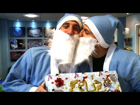 AGUERO & ZABA WRAP | Advent Calendar | December 7