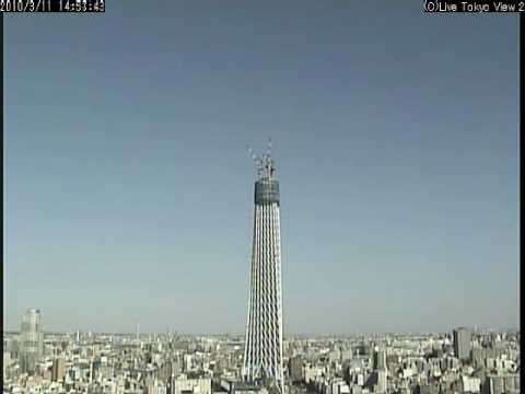 Timelapse - one year in 15 minutes - A new Tower growing like tree, in Tokyo, Japan (yt15minutes)