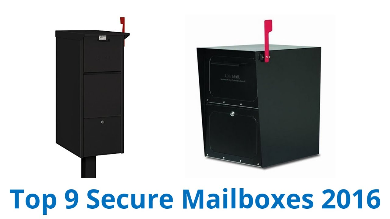 9 Best Secure Mailboxes 2016