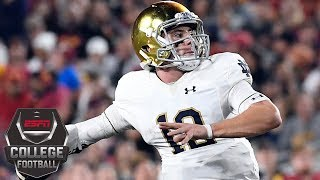 Notre Dame beats USC to stay perfect | College Football Highlights