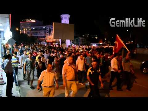 Gemlik Halkı 2. kez HDP Binasına Yürüdü GemlikLife