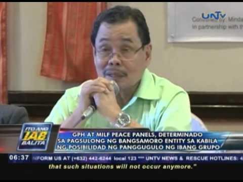 GPH at MILF Peace Panels, determinado sa pagsulong ng Bangsamoro Entity