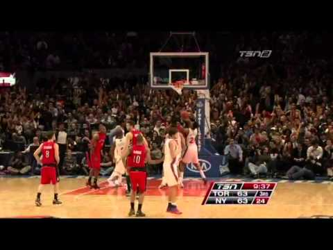 Hardwood Diagnostic - Andrea Bargnani @ New York Knicks (41 points, 7 rebs, 6 asts)