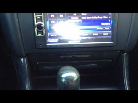 2000 Lexus GS Kenwood Electronics DDX419 in dash dvd reciever