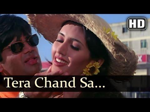 Tera Chand Sa Chehra - Sunil Shetty - Deepti Bhatnagar - Hum...