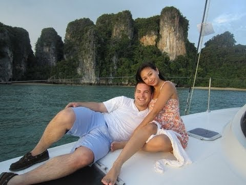 ❤ Honeymoon VLOG #1: Thailand Paradise Koh Yao ❤ DREAM HONEYMOON! AprilAthena7