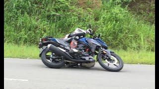 Fun time with Honda X-BLADE 160