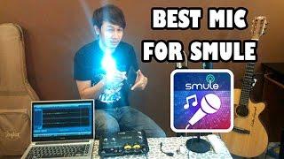 Agar Hasil Rekaman SMULE Jernih Best Mic For Smartphone Tanpa Komputer