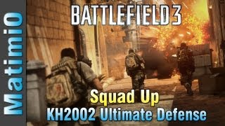 KH2002 Holding the Line - Rush Defense Squad Up! (Battlefield 3 Gameplay/Commentary)