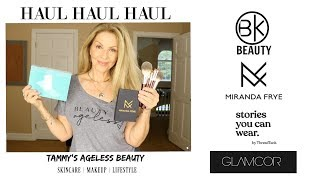 HAUL | BK BEAUTY | MIRANDA FRYE | THREAD TANK TEES | And More | #Maturebeauty