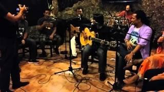 Tanjib , Balam , Tapos, Turjo , liza , oishi , pulok , moon  rock on the stage