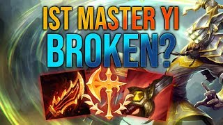 Ist Master Yi Broken? [League of Legends] [Deutsch / German]