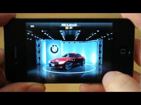 CSR Racing on iPhone 4 overview