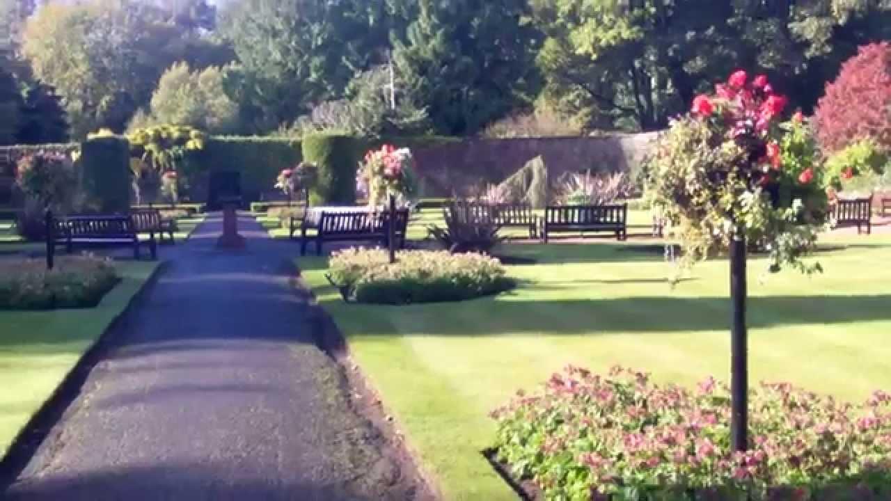 Belleisle Park Gardens Ayr Scotland Autumn Leaves Colours Fall Colors Youtube