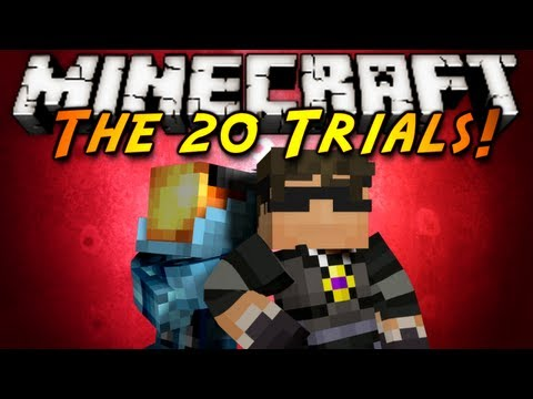 Minecraft: The 20 Trials Part 3!