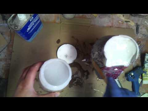 Silicone Caulk Molding: Making cheap molds