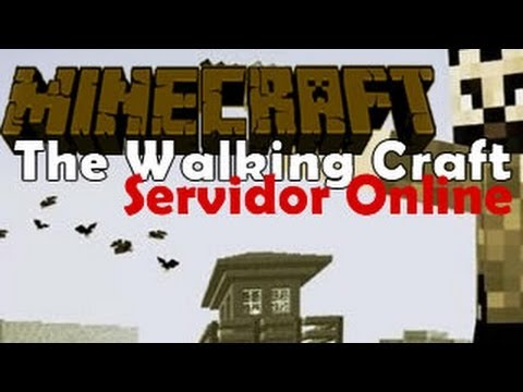 Server de The Walking Craft [24HRS][Youtubers][Pirata e Original][Sem Lag][ONLINE]