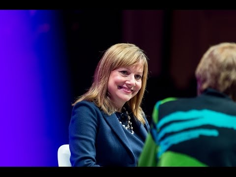 Mary Barra at the Most Powerful Women Summit 2015
