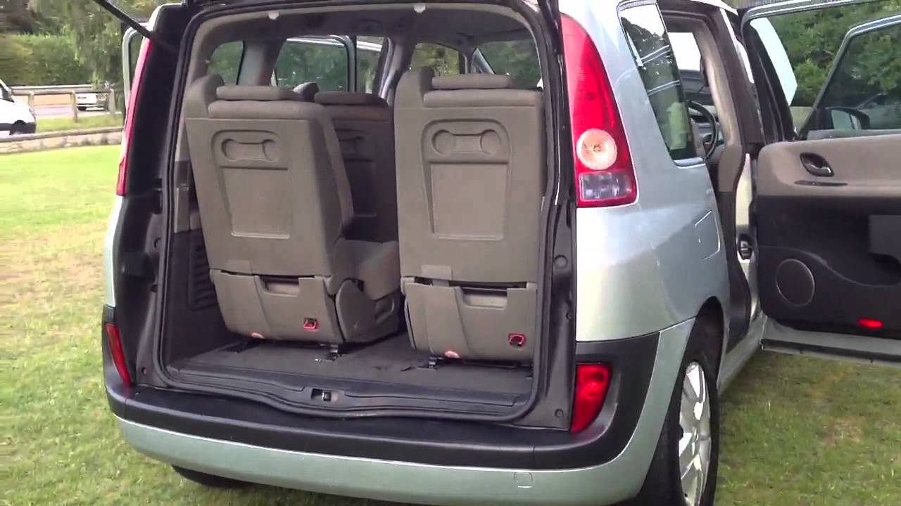 2003 renault espace 1 9 dci expression 5dr diesel estate youtube. Black Bedroom Furniture Sets. Home Design Ideas