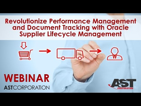 Revolutionize Performance Management and Document Tracking with Oracle Supplier Lifecycle Management