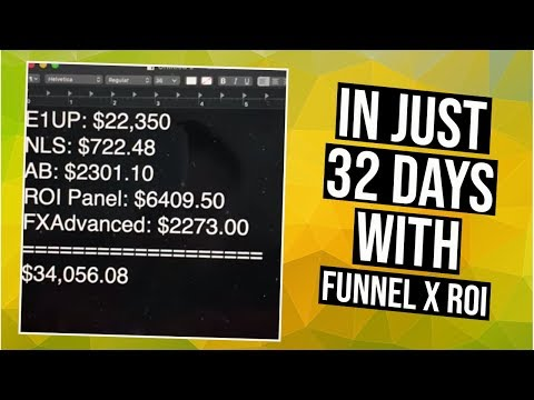 Best Affiliate Programs 2019 - Funnel X ROI Review Feat. Easy1UP (PROOF)
