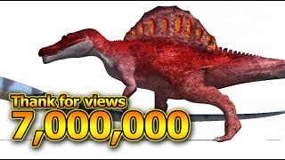 [ Size Comparison ] Dinosaurs in Dinomaster