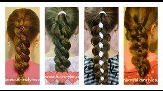 How To Four (4) Strand Braid Tutorial