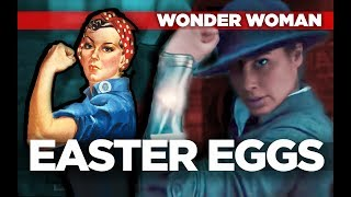 Wonder Woman BREAKDOWN: ALL Easter Eggs! - Wonder Woman Full Movie Review & Reaction