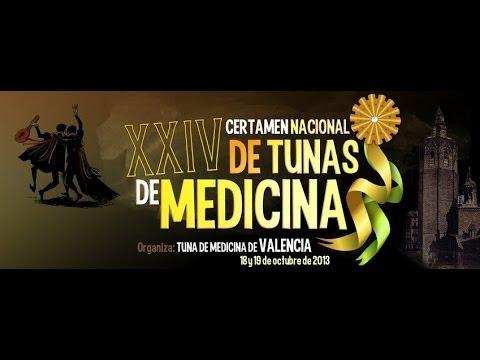 XXIV Certamen Nacional de Tunas de Medicina de Valencia 2013