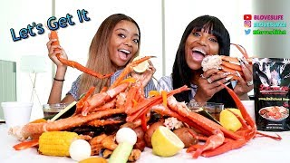 Seafood Boil and Interview with Skai Jackson