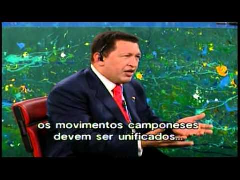 Hugo Chavez no Roda Viva